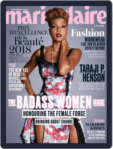 Marie Claire South Africa April 1st, 2018 Digital Back Issue Cover