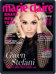 Marie Claire South Africa (Digital) Subscription January 1st, 2018 Issue