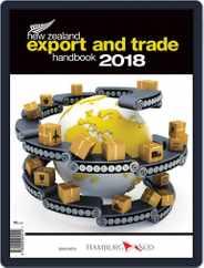 Nz Export And Trade Handbook Magazine (Digital) Subscription January 1st, 2018 Issue