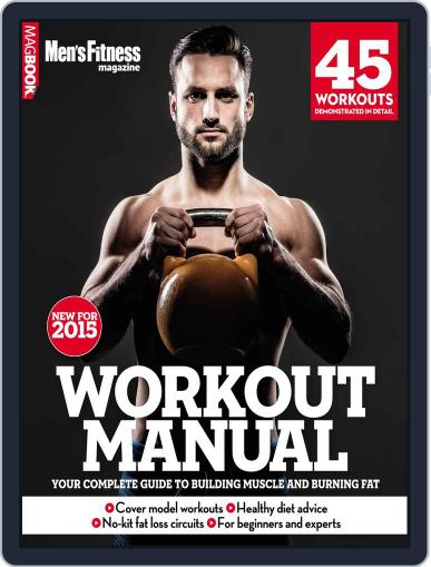 Men's Fitness Workout Manual December 5th, 2014 Digital Back Issue Cover