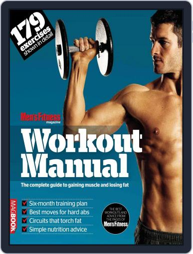 Men's Fitness Workout Manual January 24th, 2012 Digital Back Issue Cover