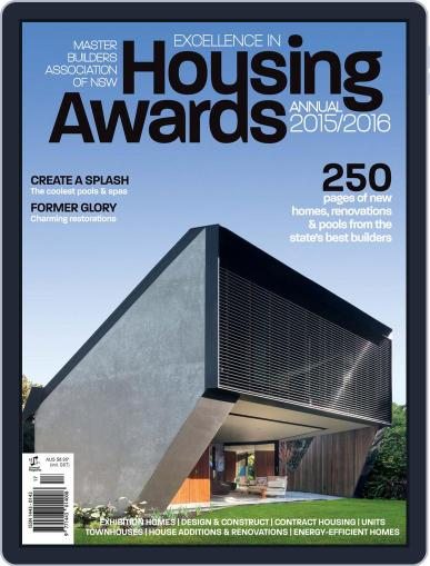 Mba Housing Awards Annual December 1st, 2015 Digital Back Issue Cover
