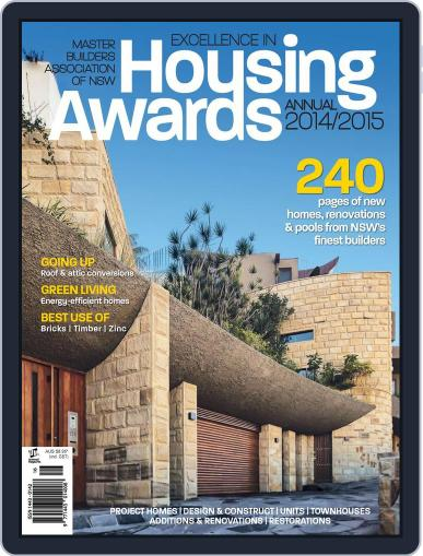 Mba Housing Awards Annual November 26th, 2014 Digital Back Issue Cover
