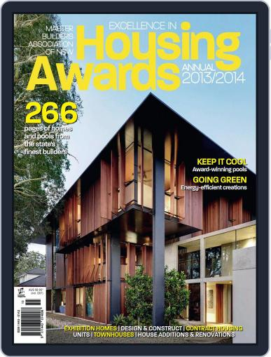 Mba Housing Awards Annual February 4th, 2014 Digital Back Issue Cover