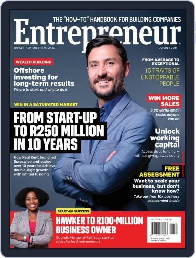 Entrepreneur Magazine South Africa October 1st, 2018 Digital Back Issue Cover