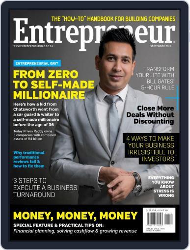 Entrepreneur Magazine South Africa September 1st, 2018 Digital Back Issue Cover