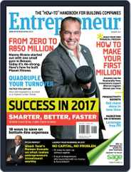 Entrepreneur Magazine South Africa (Digital) Subscription January 1st, 2017 Issue