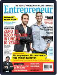 Entrepreneur Magazine South Africa (Digital) Subscription July 1st, 2016 Issue