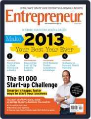 Entrepreneur Magazine South Africa (Digital) Subscription January 1st, 2013 Issue