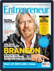 Entrepreneur Magazine South Africa (Digital) Subscription November 30th, 2012 Issue