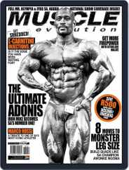 Muscle Evolution (Digital) Subscription November 1st, 2016 Issue