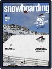 Australian NZ Snowboarding (Digital) Subscription January 1st, 2017 Issue