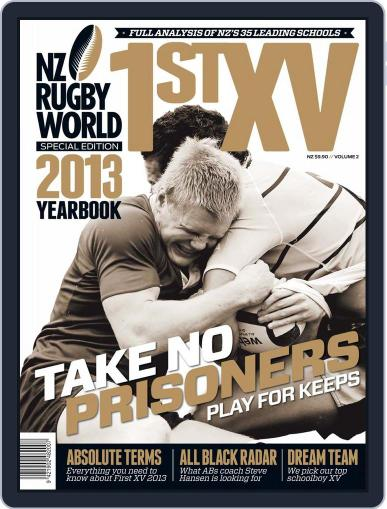 Nz Rugby World First Xv March 10th, 2013 Digital Back Issue Cover