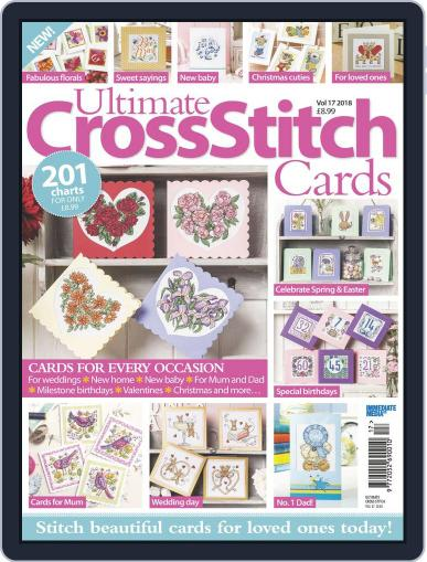 Ultimate Cross Stitch Cards March 21st, 2018 Digital Back Issue Cover