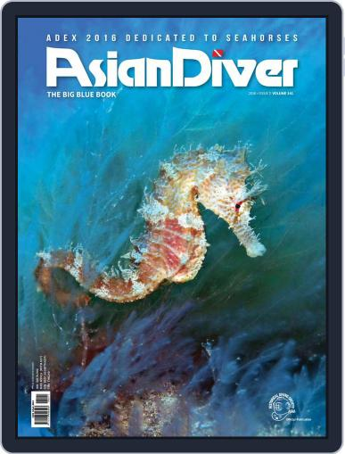 Asian Diver April 15th, 2016 Digital Back Issue Cover