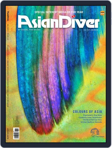 Asian Diver January 1st, 2016 Digital Back Issue Cover