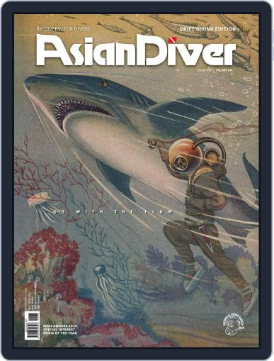 Asian Diver July 15th, 2015 Digital Back Issue Cover