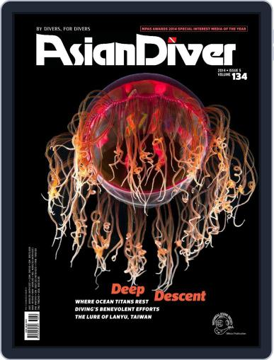 Asian Diver October 13th, 2014 Digital Back Issue Cover
