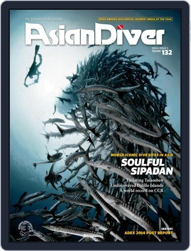 Asian Diver June 19th, 2014 Digital Back Issue Cover