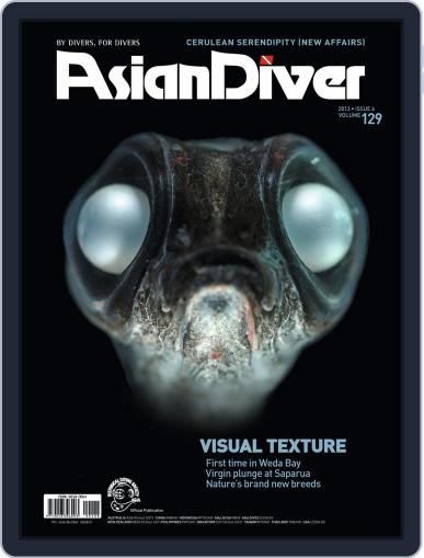 Asian Diver November 13th, 2013 Digital Back Issue Cover