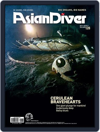 Asian Diver September 12th, 2013 Digital Back Issue Cover
