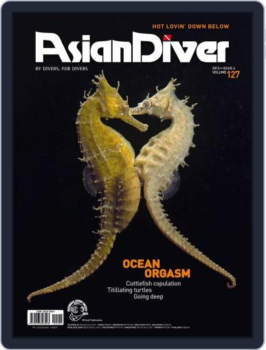 Asian Diver July 11th, 2013 Digital Back Issue Cover
