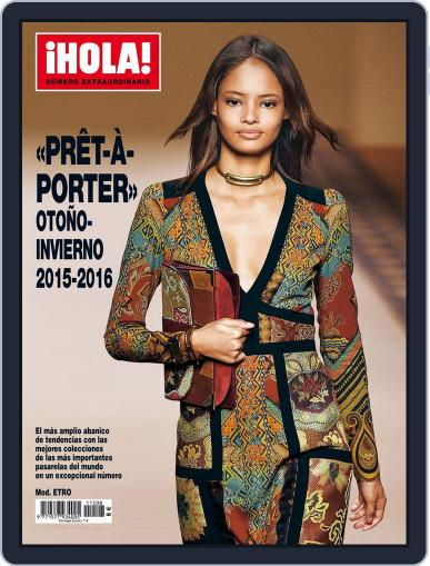¡hola! Prêt-À-porter August 4th, 2015 Digital Back Issue Cover