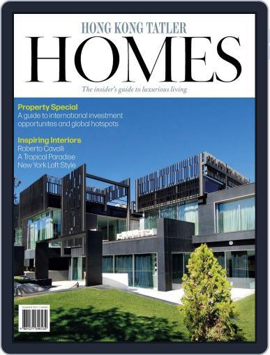 Hong Kong Tatler Homes June 19th, 2014 Digital Back Issue Cover