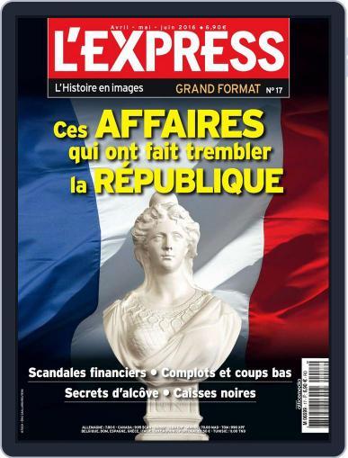 L'Express Grand Format April 1st, 2016 Digital Back Issue Cover