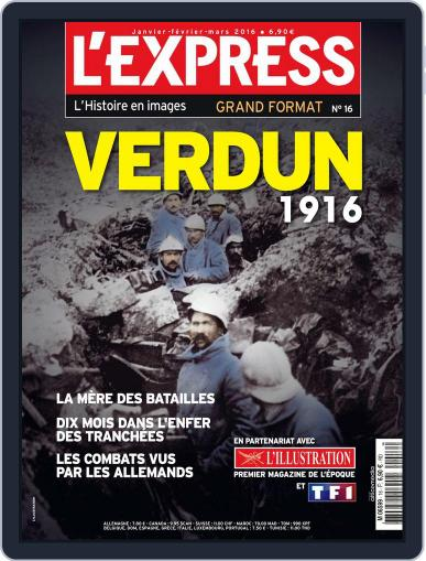 L'Express Grand Format January 1st, 2016 Digital Back Issue Cover