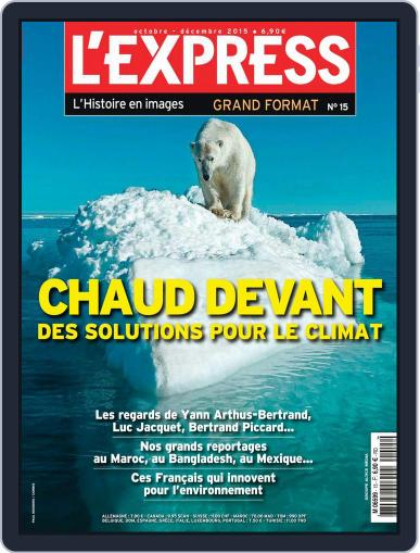L'Express Grand Format October 1st, 2015 Digital Back Issue Cover