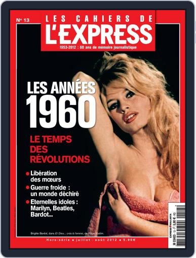L'Express Grand Format July 5th, 2012 Digital Back Issue Cover