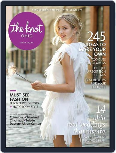 The Knot Ohio Weddings March 1st, 2017 Digital Back Issue Cover