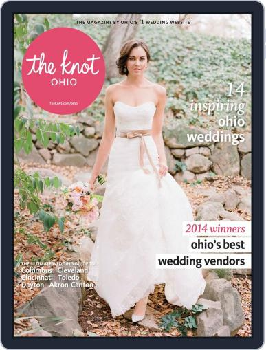 The Knot Ohio Weddings July 7th, 2014 Digital Back Issue Cover