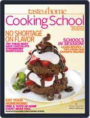 Taste Of Home Cooking School (Digital) Subscription March 30th, 2012 Issue