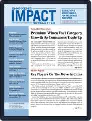 Shanken's Impact Newsletter (Digital) Subscription August 1st, 2019 Issue