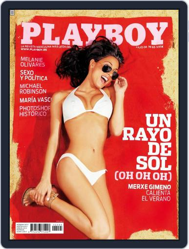 Playboy - España July 1st, 2008 Digital Back Issue Cover