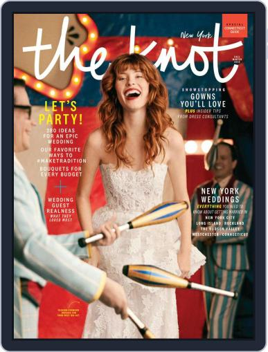 The Knot New York Metro Weddings July 1st, 2019 Digital Back Issue Cover