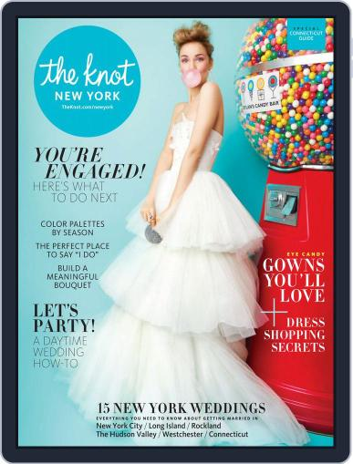 The Knot New York Metro Weddings July 1st, 2018 Digital Back Issue Cover