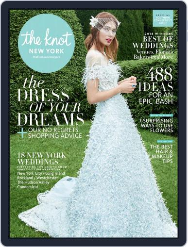 The Knot New York Metro Weddings March 1st, 2018 Digital Back Issue Cover