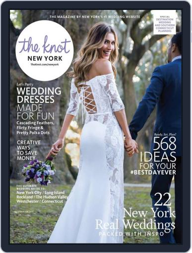The Knot New York Metro Weddings June 1st, 2017 Digital Back Issue Cover