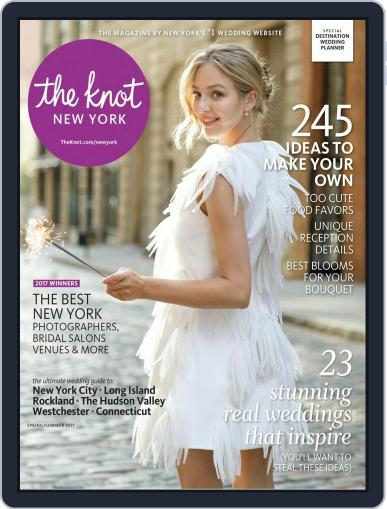 The Knot New York Metro Weddings January 1st, 2017 Digital Back Issue Cover
