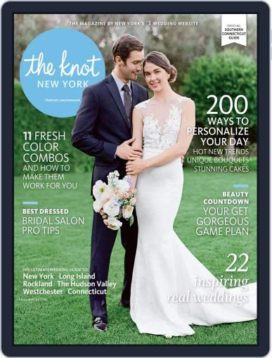 The Knot New York Metro Weddings July 1st, 2016 Digital Back Issue Cover