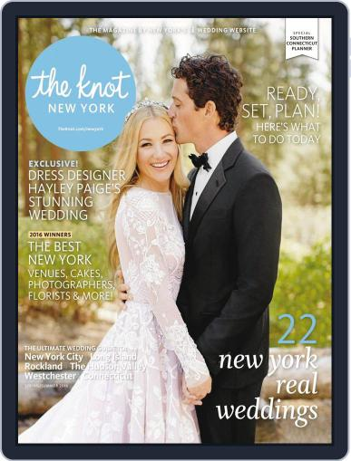 The Knot New York Metro Weddings December 1st, 2015 Digital Back Issue Cover