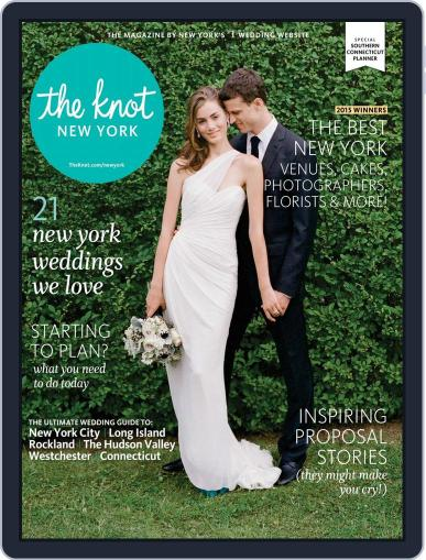 The Knot New York Metro Weddings January 1st, 2015 Digital Back Issue Cover