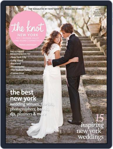The Knot New York Metro Weddings September 1st, 2013 Digital Back Issue Cover