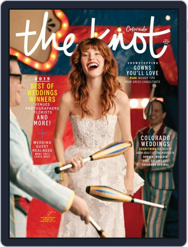 The Knot Colorado Weddings April 29th, 2019 Digital Back Issue Cover