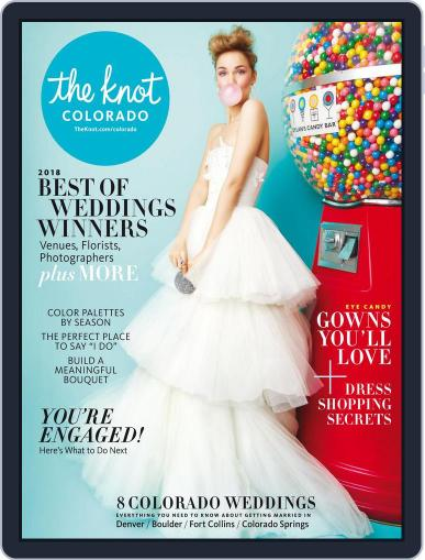 The Knot Colorado Weddings April 23rd, 2018 Digital Back Issue Cover