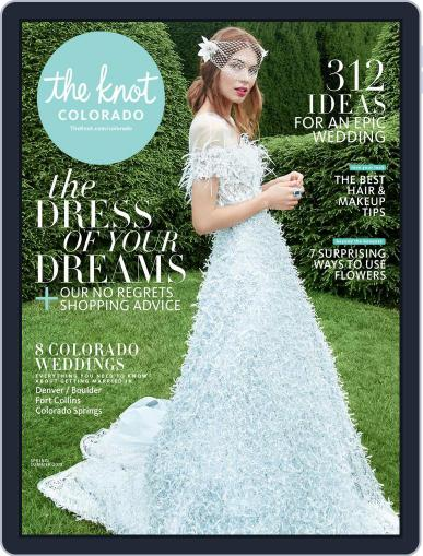 The Knot Colorado Weddings October 23rd, 2017 Digital Back Issue Cover