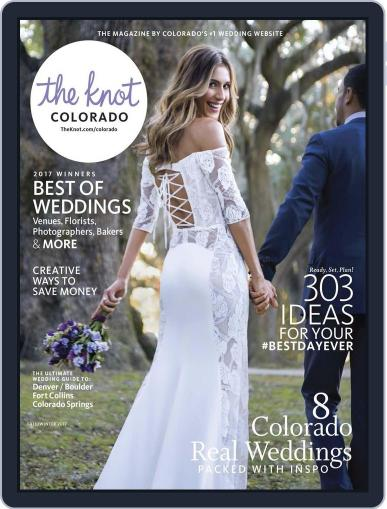 The Knot Colorado Weddings April 1st, 2017 Digital Back Issue Cover